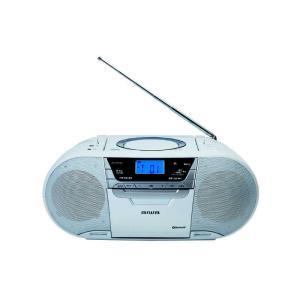 アイワ AIWA 再生スピードコントロール機能搭載 Bluetooth CDラジオデジタルレコーダー CR-BUE50の画像
