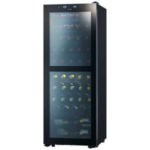 さくら製作所 ワインセラー 「ZERO CLASS Smart」(51本・右開き) SB51 ブラッ...