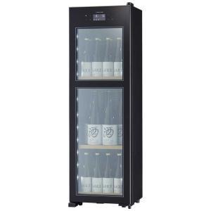 さくら製作所 低温冷蔵クーラー ZERO CHILLED [20本/右開き] OSK20-B ブラッ...