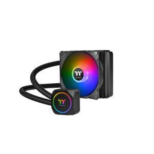 THERMALTAKE 水冷CPUクーラー TH120 ARGB Sync CLW285PL12SWA|コジマPayPayモール店