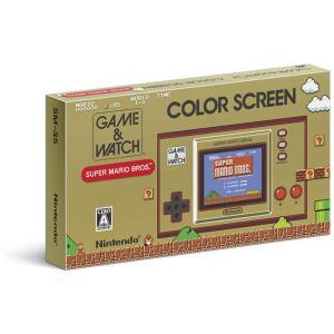 任天堂 Nintendo 携帯ゲーム機本体 ゲーム&ウオッチ スーパーマリオブラザーズ HXA-S-RAAAA