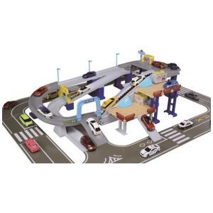タカラトミー トミカワールド 2スピードでコントロール! トミカアクション高速どうろ コジマPayPayモール店