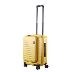 LOJEL スーツケース CUBO(キューボ)−N Sサイズ マスタード CUBO-N-SMS|コジマPayPayモール店