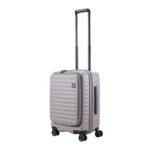 LOJEL スーツケース CUBO(キューボ)−N Sサイズ グレー CUBO-N-SGY|コジマPayPayモール店