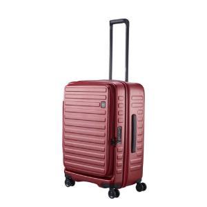 LOJEL スーツケース CUBO(キューボ)−N Mサイズ バーガンディ CUBO-N-MBG|コジマPayPayモール店