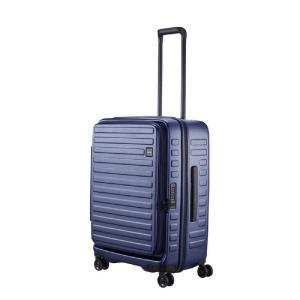 LOJEL スーツケース CUBO(キューボ)−N Mサイズ ネイビー CUBO-N-MNV|コジマPayPayモール店