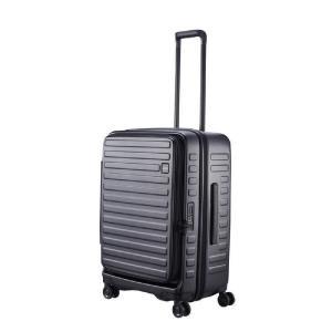 LOJEL スーツケース CUBO(キューボ)−N Mサイズ ブラック CUBO-N-MBK|コジマPayPayモール店