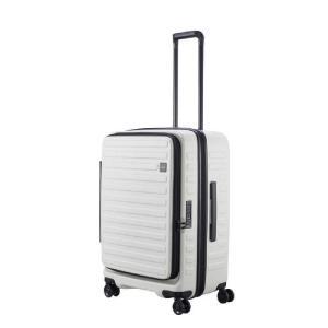 LOJEL スーツケース CUBO(キューボ)−N Mサイズ ホワイト CUBO-N-MWH|コジマPayPayモール店