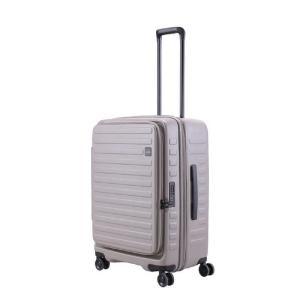 LOJEL スーツケース CUBO(キューボ)−N Mサイズ グレー CUBO-N-MGY|コジマPayPayモール店