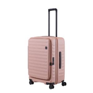 LOJEL スーツケース CUBO(キューボ)−N Mサイズ ローズ CUBO-N-MLZ|コジマPayPayモール店