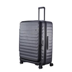 LOJEL スーツケース CUBO(キューボ)−N Lサイズ ブラック CUBONLBK|コジマPayPayモール店