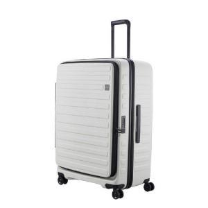 LOJEL スーツケース CUBO(キューボ)−N Lサイズ ホワイト CUBO-N-LWH|コジマPayPayモール店