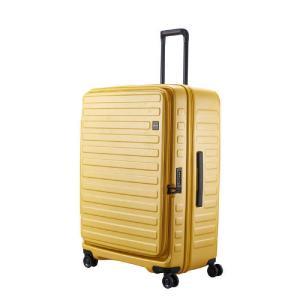 LOJEL スーツケース CUBO(キューボ)−N Lサイズ マスタード CUBO-N-LMS|コジマPayPayモール店