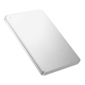 IOデータ 外付けHDD シルバー [ポータブル型 /2TB] HDPX-UTS2S Silver×Greenの画像