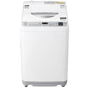 シャープ SHARP 縦型洗濯乾燥機 [洗濯機5.5kg/乾燥3.5kg/ヒータ乾燥]ES−TX5E...