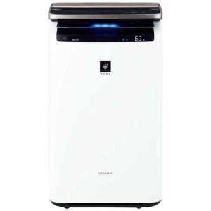 シャープ SHARP 加湿空気清浄機 [適用畳数:46畳 /最大適用畳数(加湿):26畳 /PM2.5対応] KI-NP100-W ホワイト系|コジマPayPayモール店