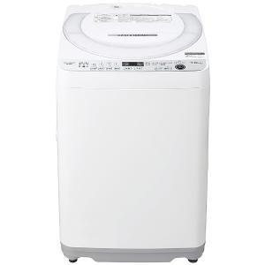 シャープ SHARP 全自動洗濯機[洗濯機7.0kg/送風乾燥付き/穴なし槽] ES-GE7E-W ホワイト系(標準設置無料)|コジマPayPayモール店
