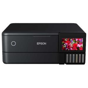 エプソン EPSON A4カラーインクジェット複合機 ブラック[カード/名刺〜A4] EW-M873...