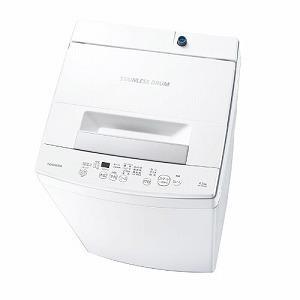 東芝 TOSHIBA 全自動洗濯機[洗濯4.5kg/送風乾燥付き]ピュアホワイト AW−45M9(W...