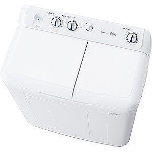 ハイアール 二槽式洗濯機(8.0kg) JW‐W80E‐W ...