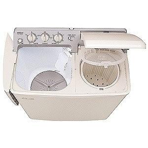 日立 2槽式洗濯機(4.5kg) PS‐H45L‐CP (パインベージュ) (標準設置無料)