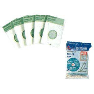 三菱 掃除機用紙パック (5枚入) 抗菌消臭紙パ...の商品画像