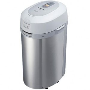 パナソニック 家庭用生ごみ処理機 「生ごみリサイクラー」 MS‐N53(S)(シルバー)|y-kojima