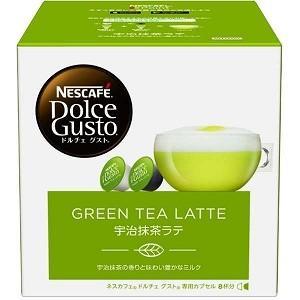 ネスレ ドルチェグスト専用カプセル「宇治抹茶ラテ」(8杯分) MLT16001