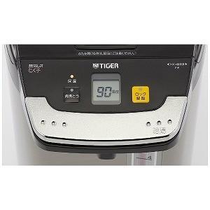 タイガー 蒸気レスVE電気まほうびん(5.0L)「とく子さん」 PIE‐A500(K)(ブラック)|y-kojima|02