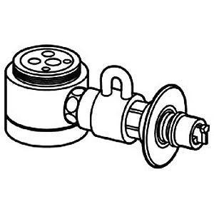 パナソニック 食器洗い乾燥機用 分岐水栓 CB‐SSG6
