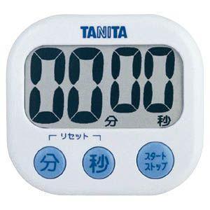 タニタ キッチンタイマー TD‐384(WH)(ホワイト)