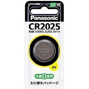 パナソニック コイン形リチウム電池 CR2025P
