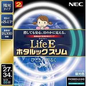 NEC LiteEホタルックスリム 27形+34形 2本入 FHC86ED‐LE‐SHG|y-kojima