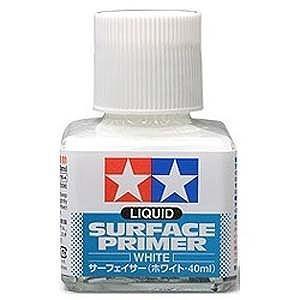 タミヤ サーフェイサー 40ml(ホワイト・ビン入り) ホワイトサーフェイサー(40MLビンイ