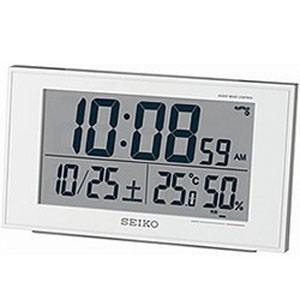 電波目覚まし時計 SQ758Wの商品画像
