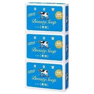 牛乳石鹸 「カウブランド」 牛乳石鹸 青箱 バスサイズ (1...