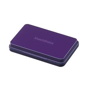 シヤチハタ スタンプ台 中形 紫 HGN-2-V(直送品)|y-lohaco2