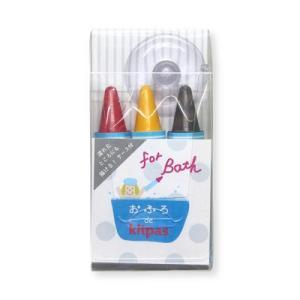 おふろdeキットパス3色 おふろでお勉強カラー KF3S-3 10個 日本理化学工業(直送品)
