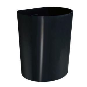 スタープラチナ 壁美人シェルティシリーズ ゴミ箱 ブラック ホッチキス設置 幅250×高さ300×奥...