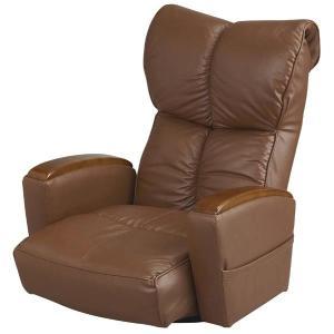 宮武製作所 肘付本革座椅子-風雅- ブラウン (直送品)|y-lohaco2|02