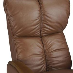 宮武製作所 肘付本革座椅子-風雅- ブラウン (直送品)|y-lohaco2|03