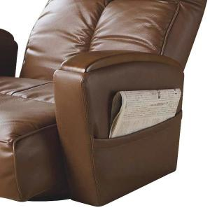 宮武製作所 肘付本革座椅子-風雅- ブラウン (直送品)|y-lohaco2|06