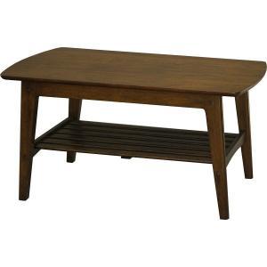ヤマソロ ロージー センターテーブル ブラウン 幅1050×奥行500×高さ500mm 1台 (直送品)