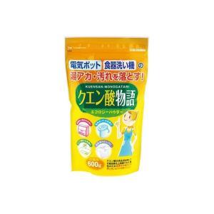 紀陽除虫菊 クエン酸物語 600g 4971902920450 1セット(10個)(直送品)