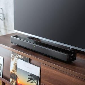 サンワダイレクト サウンドバースピーカー(テレビ・Bluetooth・サブウーハー搭載・2.1chサウンドバー・60W) 400-SP081 1個(直送品) y-lohaco2 03