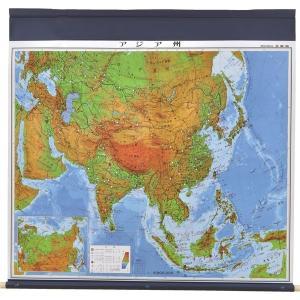【社会科・地図教材】マジック式世界州別地図 アジア州 全教図 1本(直送品)|y-lohaco2