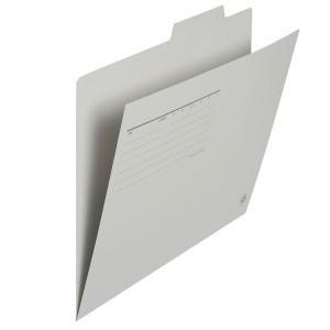 プラス 個別フォルダー A4 グレー 1袋(10枚入) FL-061IF 87099