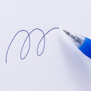 アスクル ノック式ゲルインクボールペン 0.5mm 青 10本 y-lohaco 03