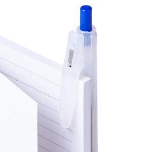 アスクル ノック式ゲルインクボールペン 0.5mm 青 10本 y-lohaco 06