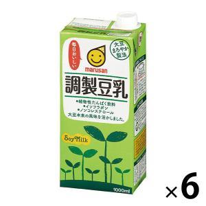 マルサン 調製豆乳 1000ml 1箱(6本入)
